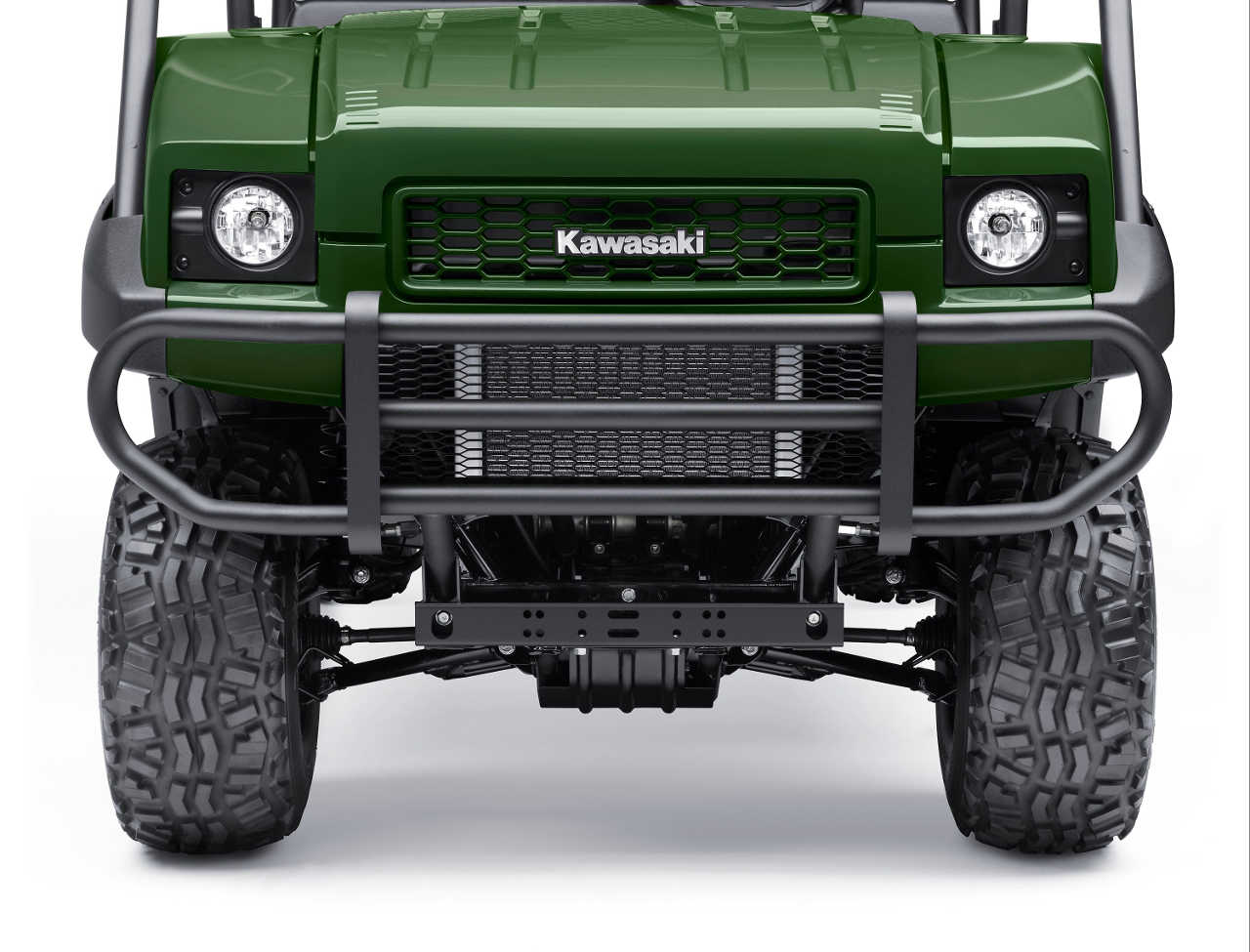 Kawasaki Mule Front Bumper : Kawsaki mule and model range atv
