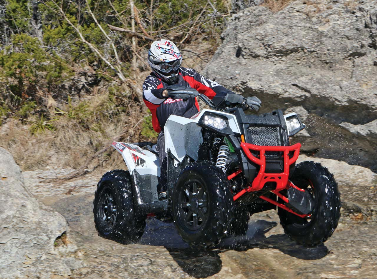 Trail & Race Tested - A Checkered Past | ATV Illustrated