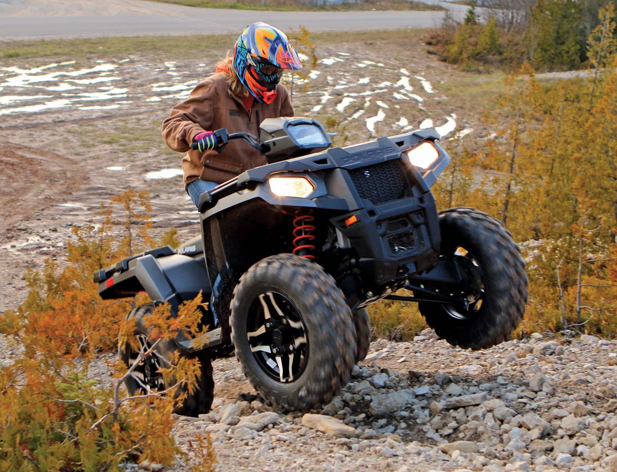 Ride Tested The Polaris Sportsman 570 Sp Atv Illustrated