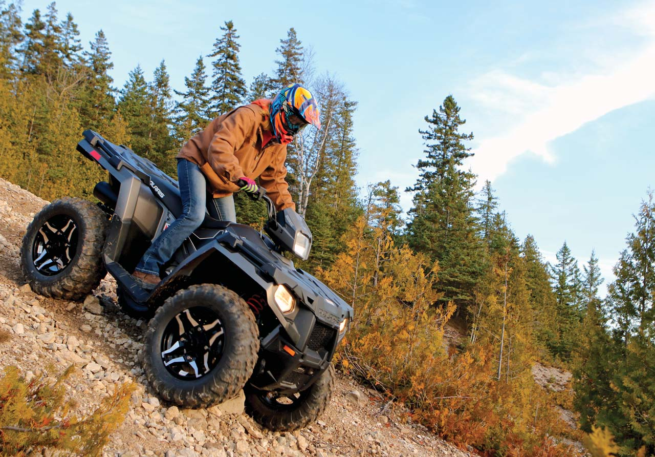Ride Tested - The Polaris Sportsman 570 SP | ATV Illustrated
