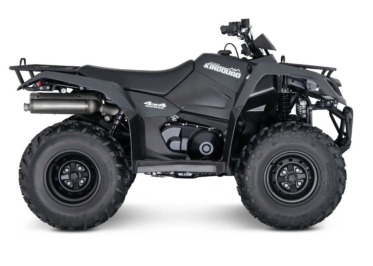 suzuki announces additional 2016 atv models atv illustrated. Black Bedroom Furniture Sets. Home Design Ideas