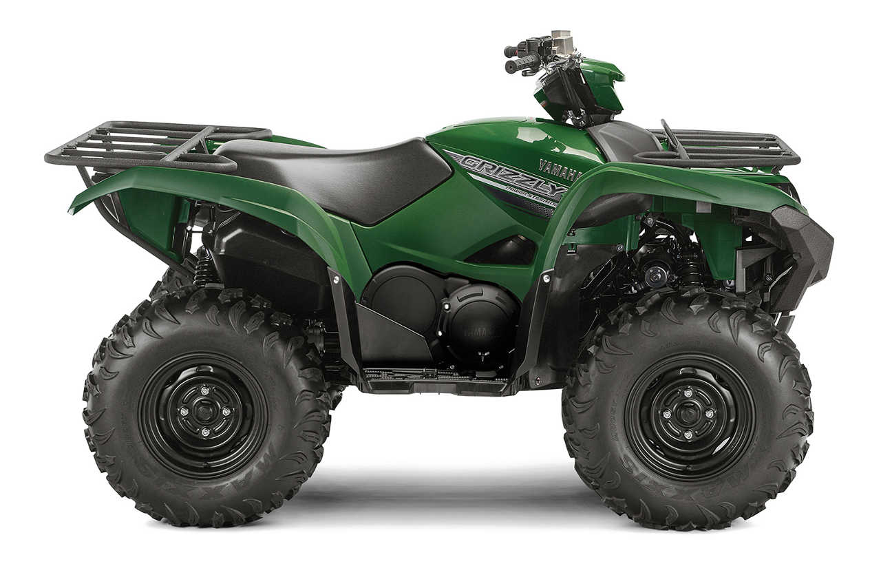yamaha introduces 2016 grizzly eps 4x4 atv atv illustrated. Black Bedroom Furniture Sets. Home Design Ideas