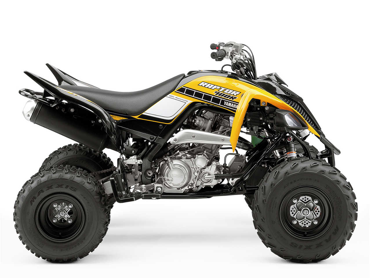 2016 new 60th anniversary special edition raptor 700r and yfz450r sport atvs atv illustrated. Black Bedroom Furniture Sets. Home Design Ideas