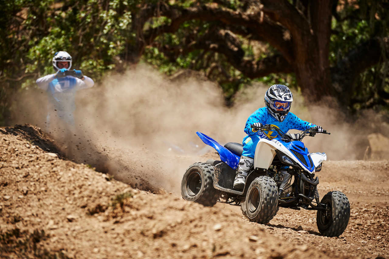 Yamaha Announces 2016 Raptor 90 Youth Atv Atv Illustrated