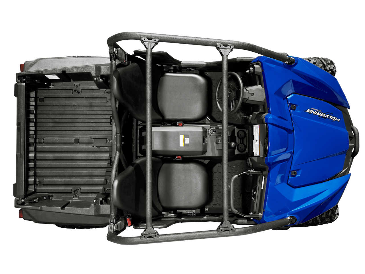 New model review return of the wolverine atv illustrated for Yamaha wolverine r spec top speed