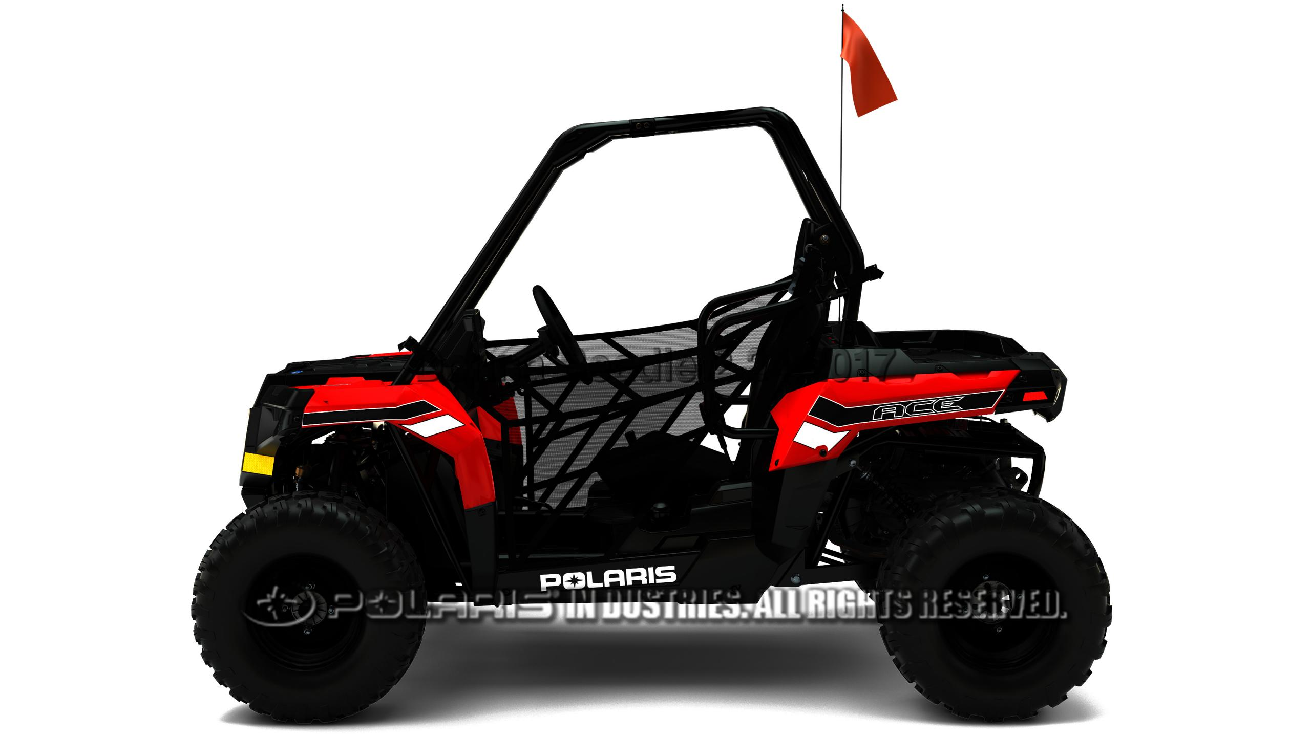 Polaris Introduces First Single Seat Youth Vehicle Atv