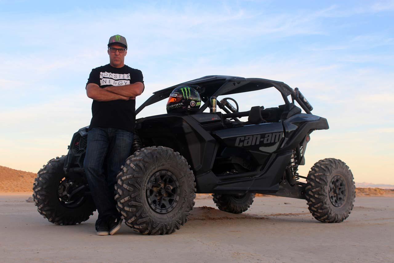 2017 Can Am Racer Matt Burroughs Maverick On