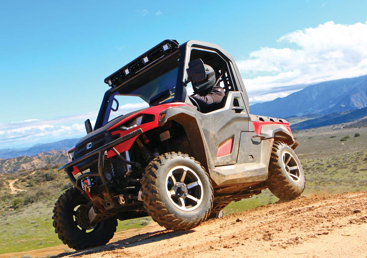 Rzr 1000 Dimensions >> New Model Review - Meet the Challenger | ATV Illustrated