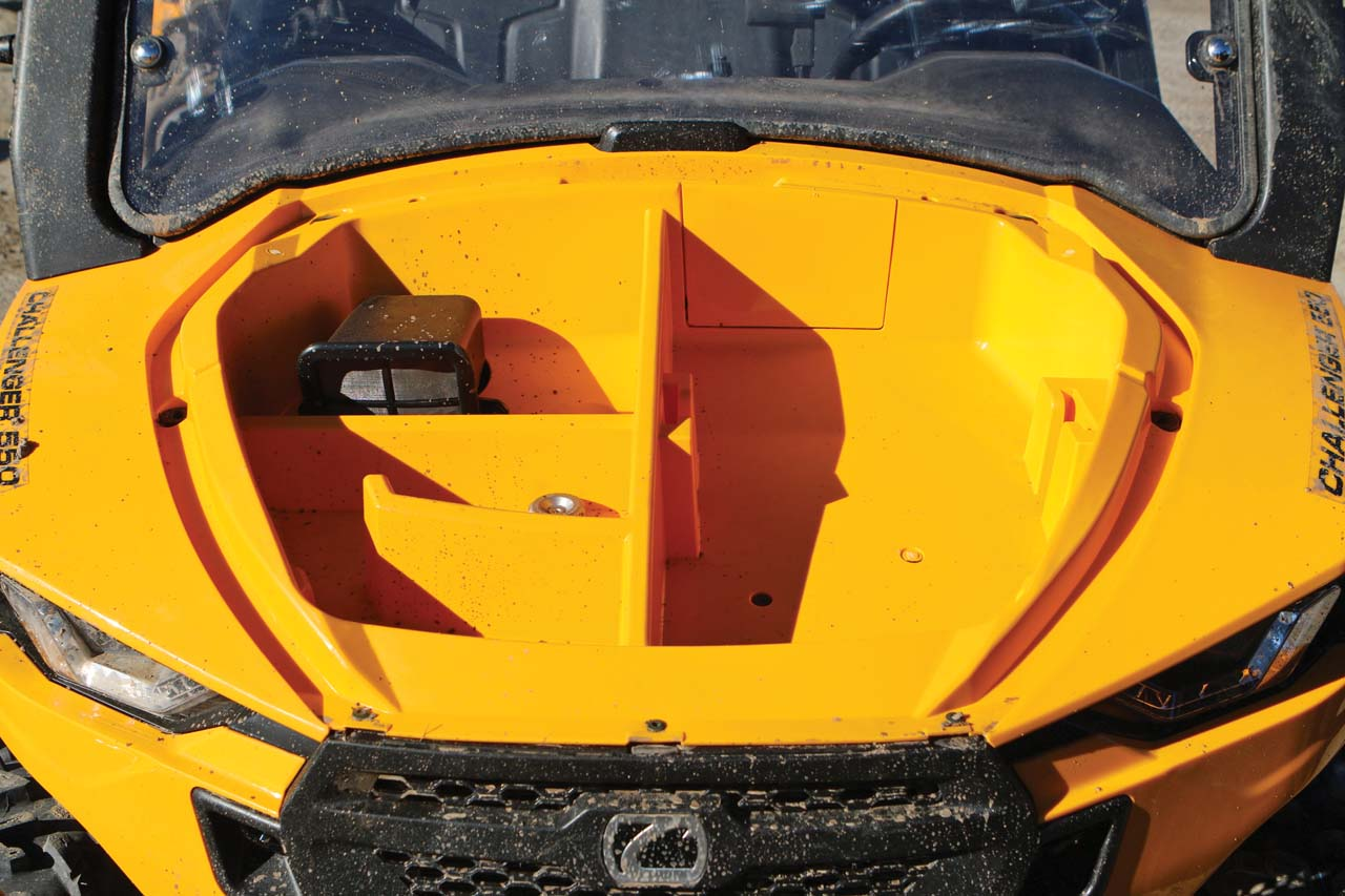 Cub Cadet Hood : New model review meet the challenger atv illustrated
