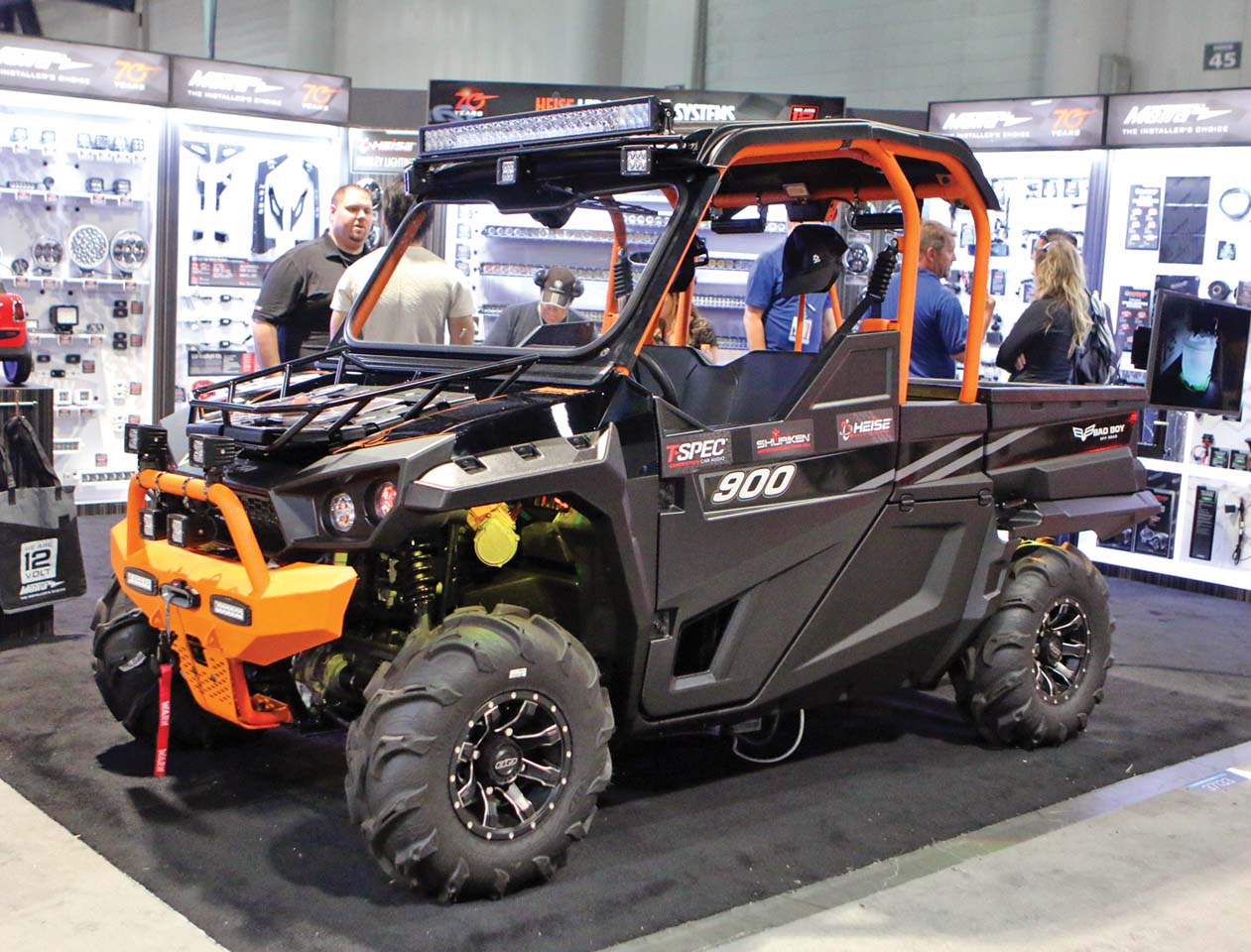 sema show closeup show shine atv illustrated