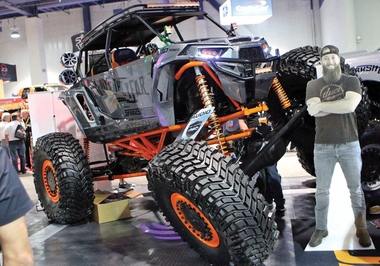 Sema Show Closeup Show Amp Shine Atv Illustrated