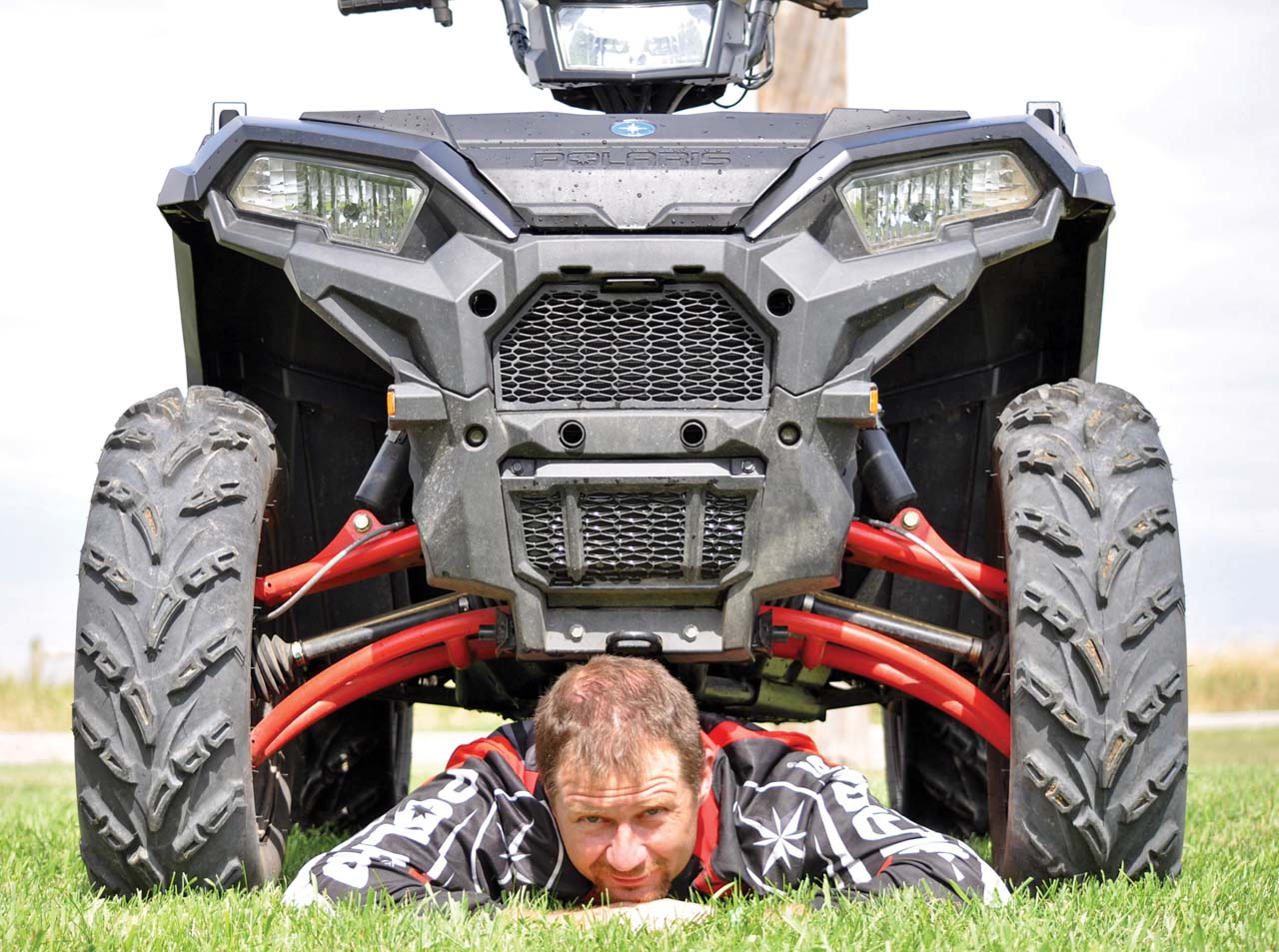Packages Begin At Msrp 11999 2017 Polaris Sportsman Xp1000 Close Up Ground Clearance