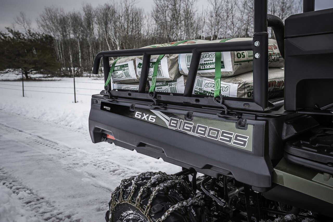 polaris introduces new sportsman 6x6 big boss 570 eps
