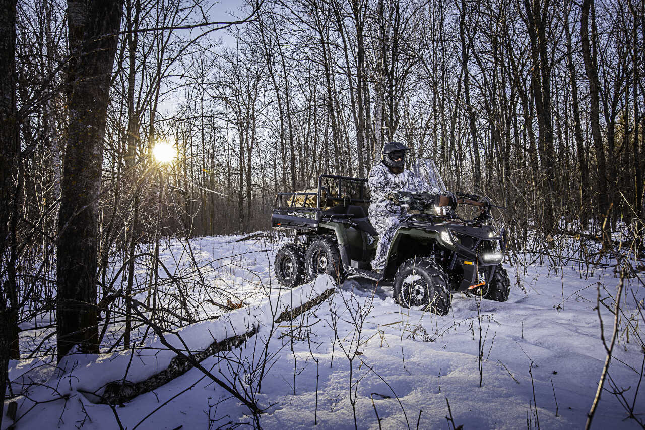 polaris introduces  sportsman  big boss  eps atv illustrated