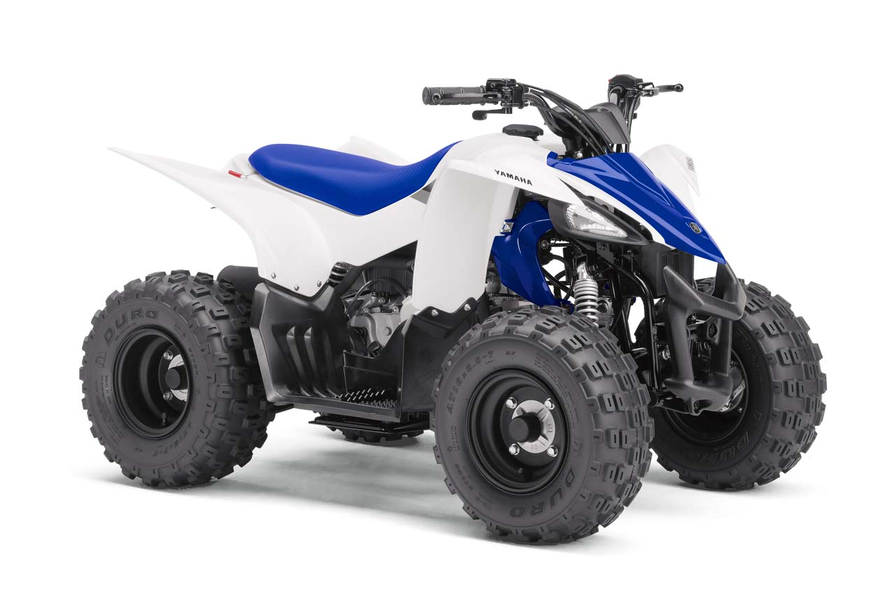 2017 yamaha s youth atvs yfz50 and raptor 90 atv illustrated for Yamaha raptor 50cc