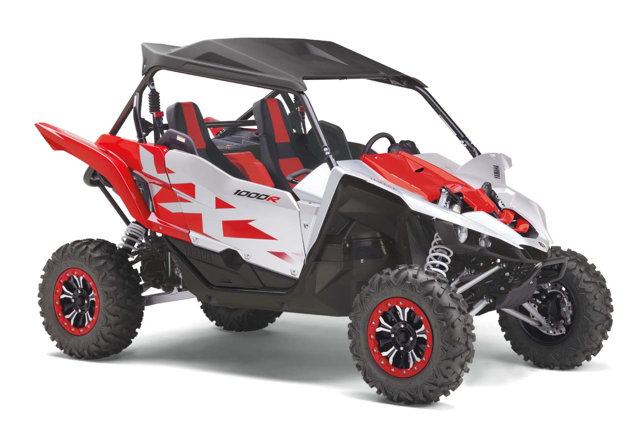 Yamaha Introduces New YXZ1000R and Wolverine SxS Special ...
