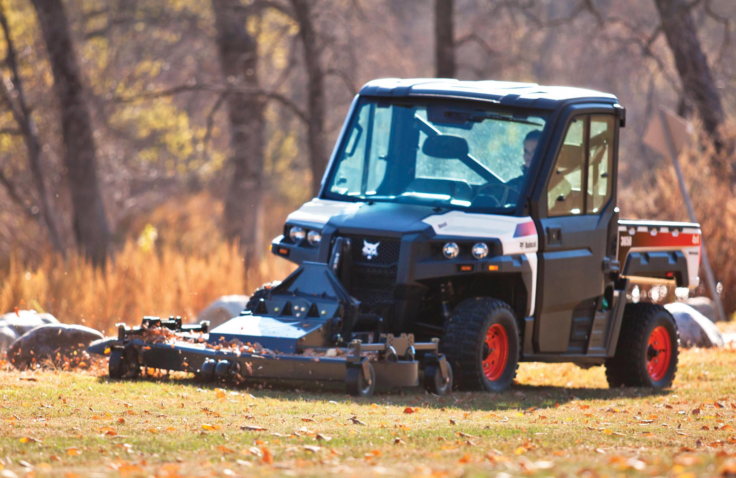 Mow the roughest terrain into a clean-cut landscape with ...