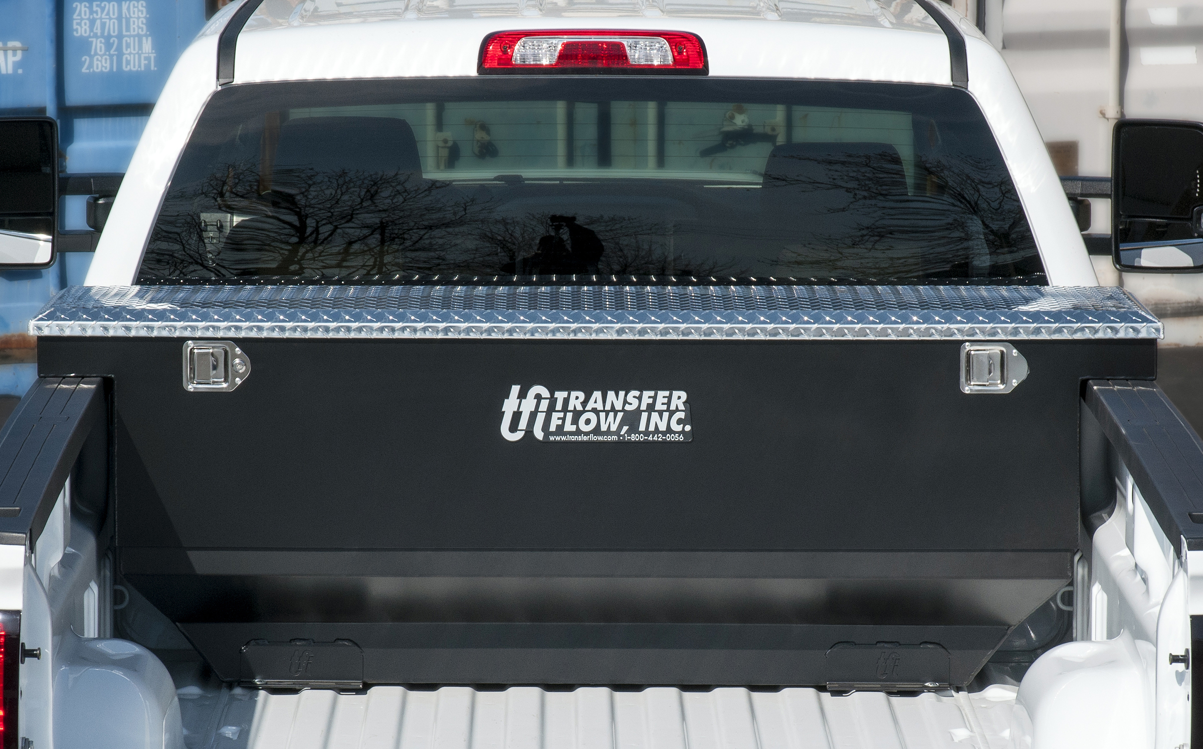 Truck Bed Fuel Tank And Toolbox