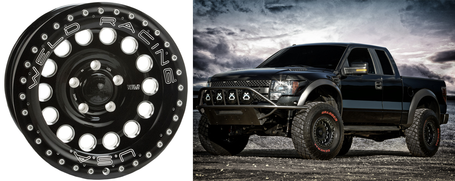 The WELD Link Is External REKON B57B Bead Loc Lightest And Toughest 17 Off Road Wheelon Market B57Bs One Piece Forged Construction