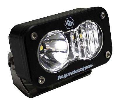 Baja Designs ATV S2 Sport LED Spot Light Green Lens