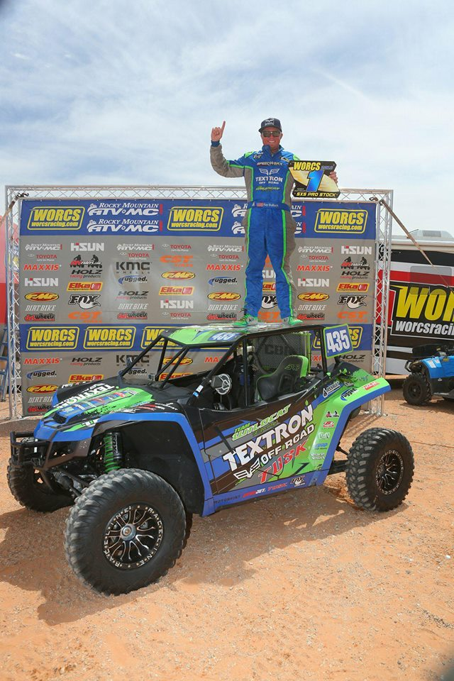 Team Wildcat's Ray Bulloch Steers Wildcat™ XX to First Win