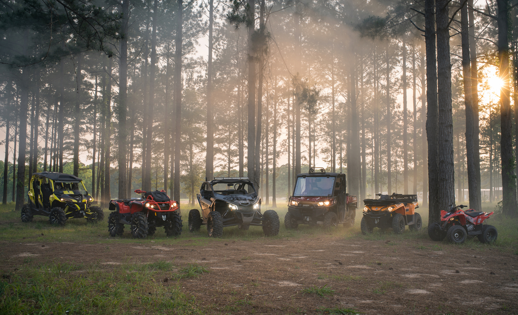 Side By Side Utv >> 2018 CAN-AM OFF-ROAD LINEUP ADDS POWER AND DIVERSITY | ATV ...