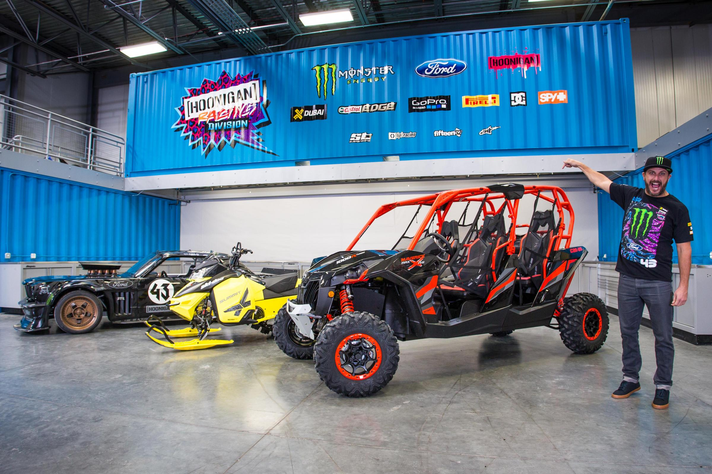 2015 Can Am Maverick >> CAN-AM PARTNERS WITH PERFORMANCE ICON KEN BLOCK   ATV Illustrated