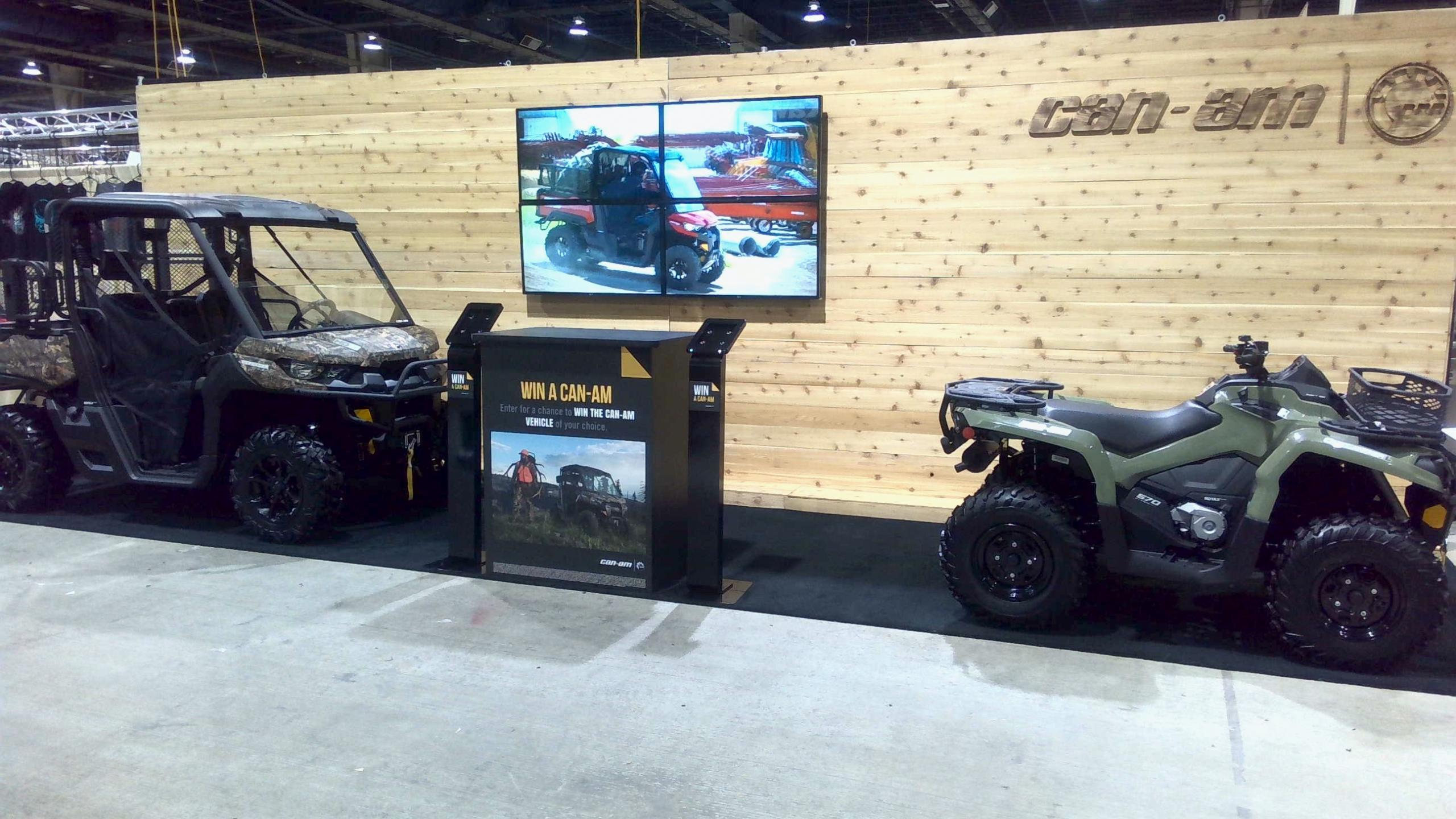 CAN AM ATTENDS GREAT AMERICAN OUTDOOR SHOW
