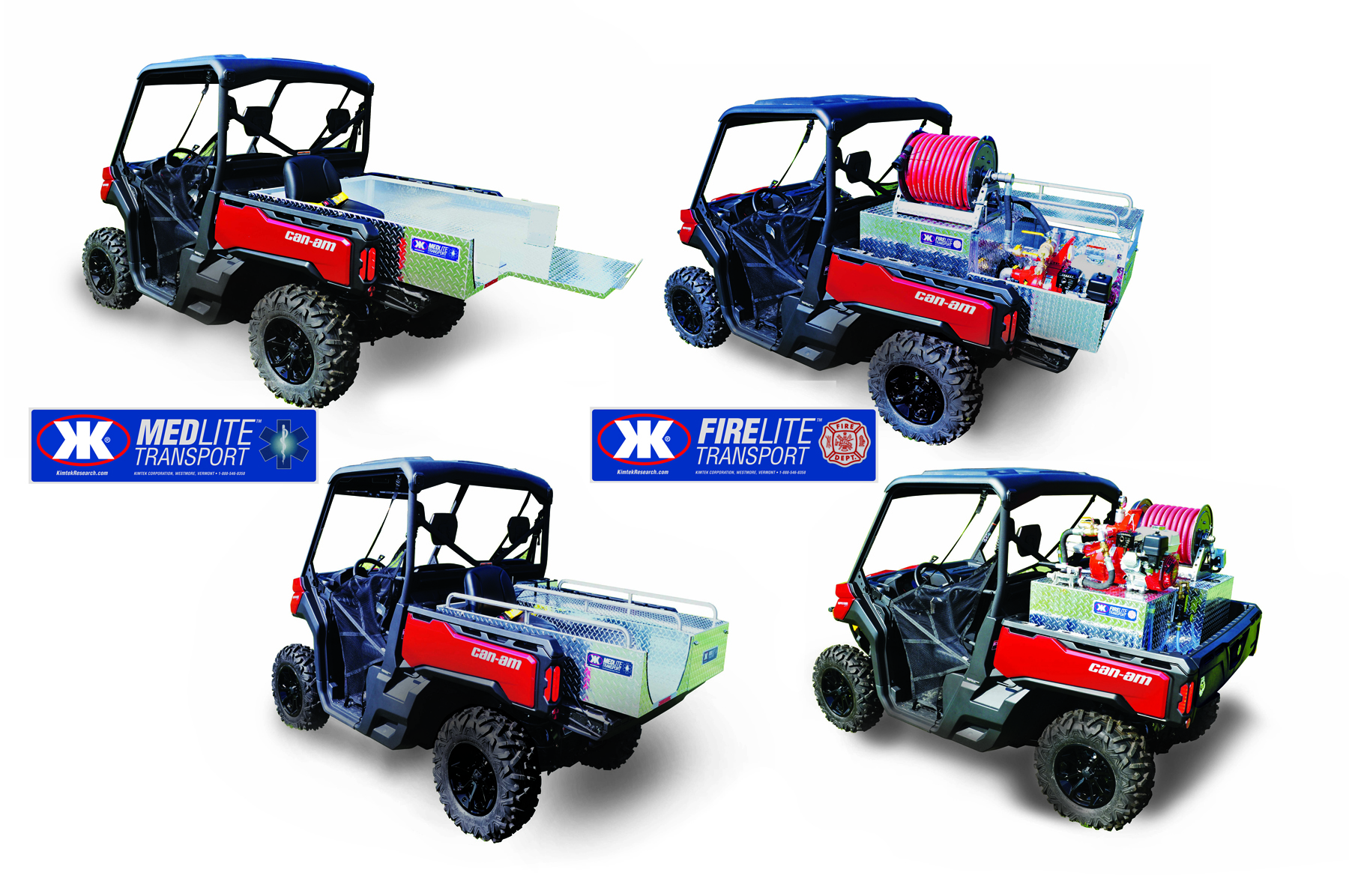 Kimtek transport units fit can am defender and can am for Stokes honda service