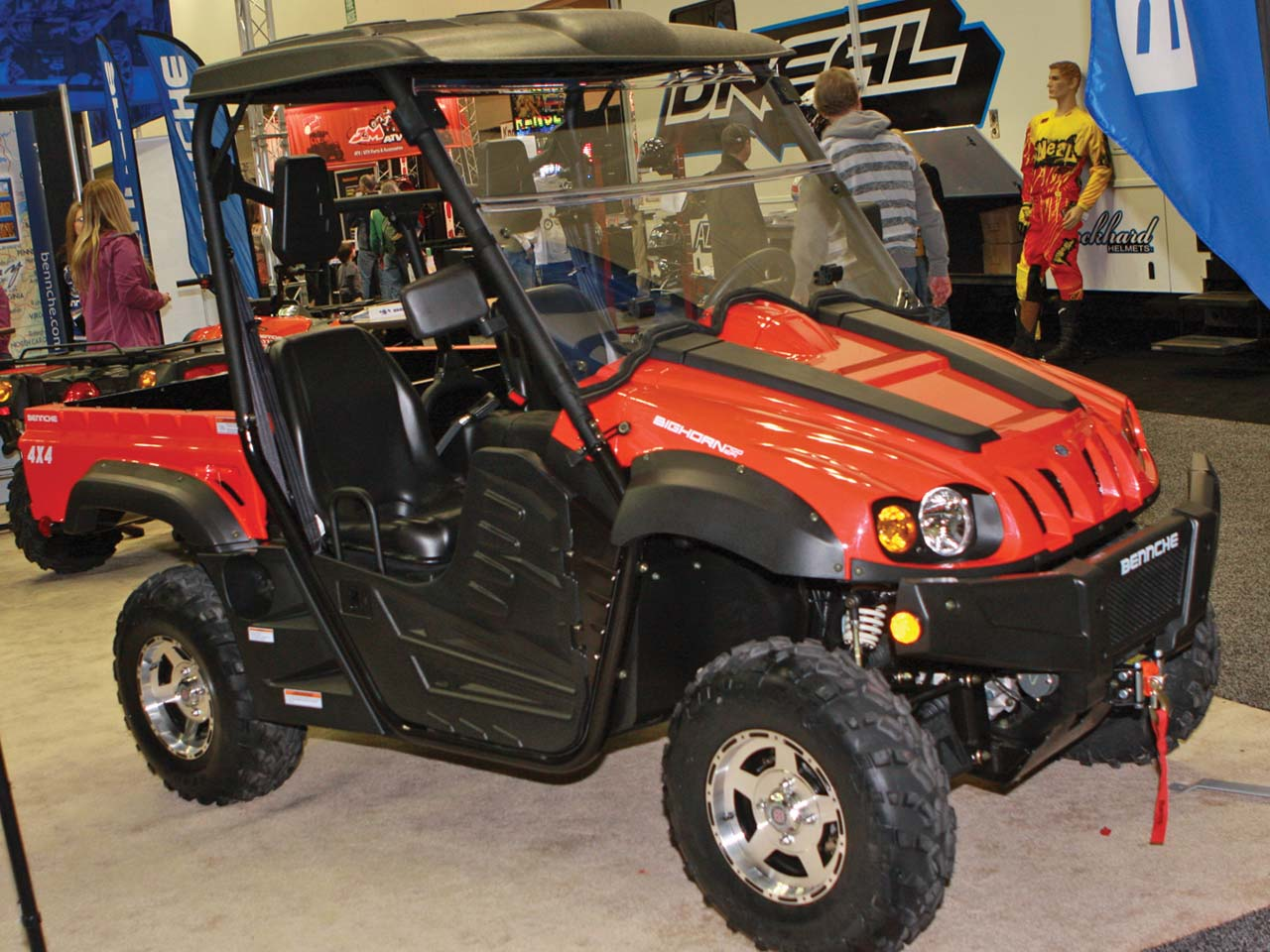 Bennche Utv Fuse Box New Products Models Indy Expo Atv Illustrated 1280x960