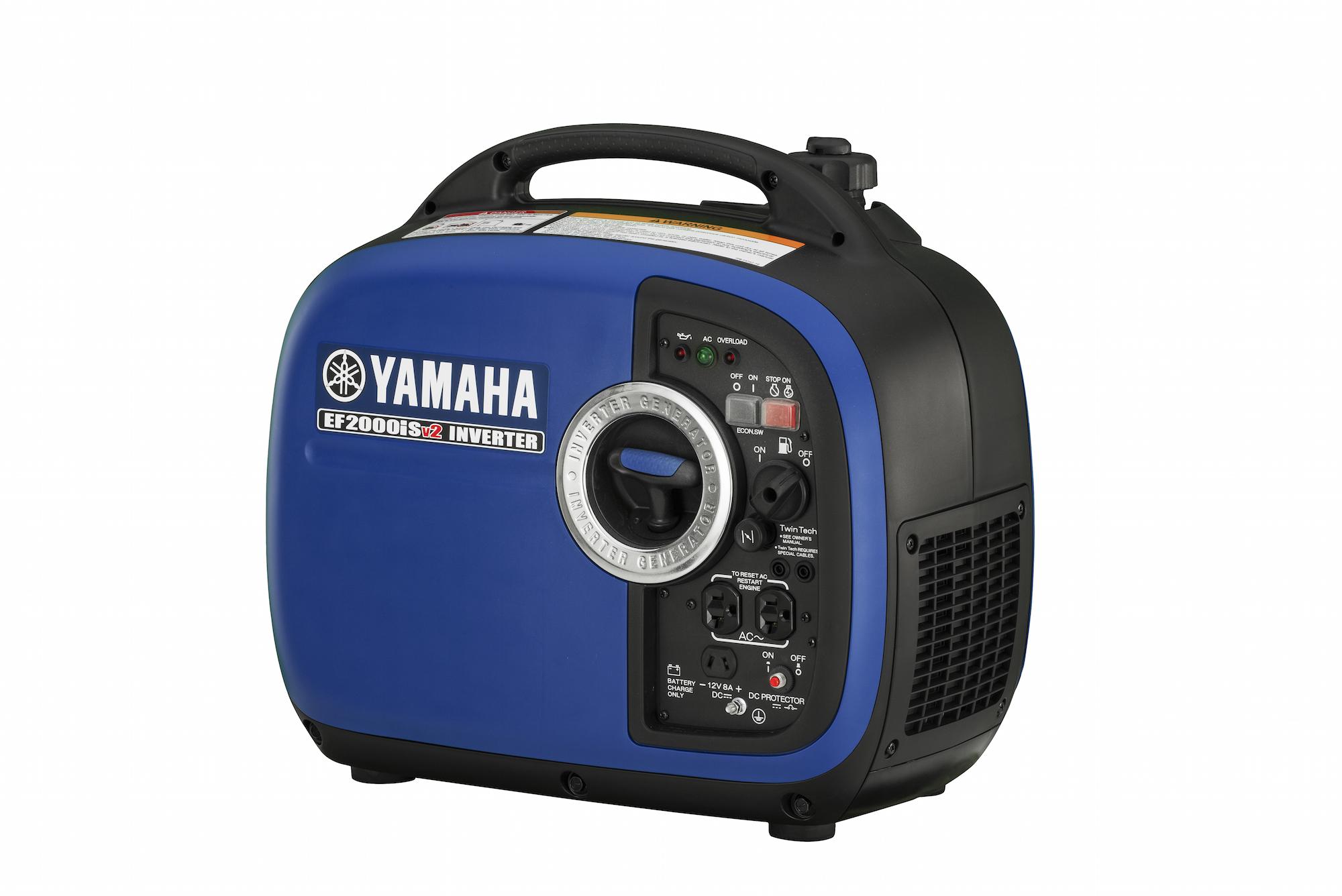 2016 Yamaha EF2000iSv2 Portable Generator fers pact