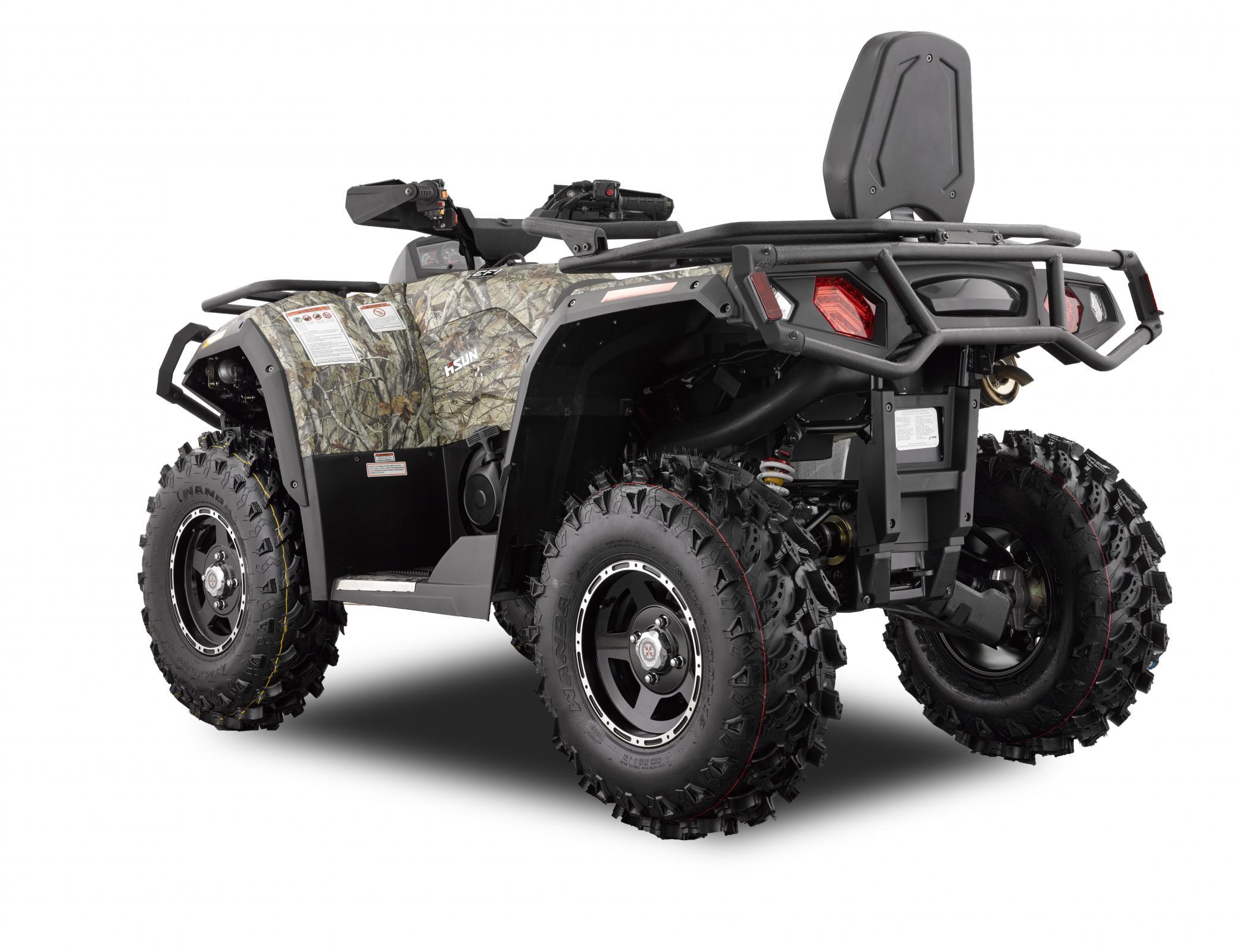 HISUN Motors Introduces New 2-UP ATVs | ATV Illustrated