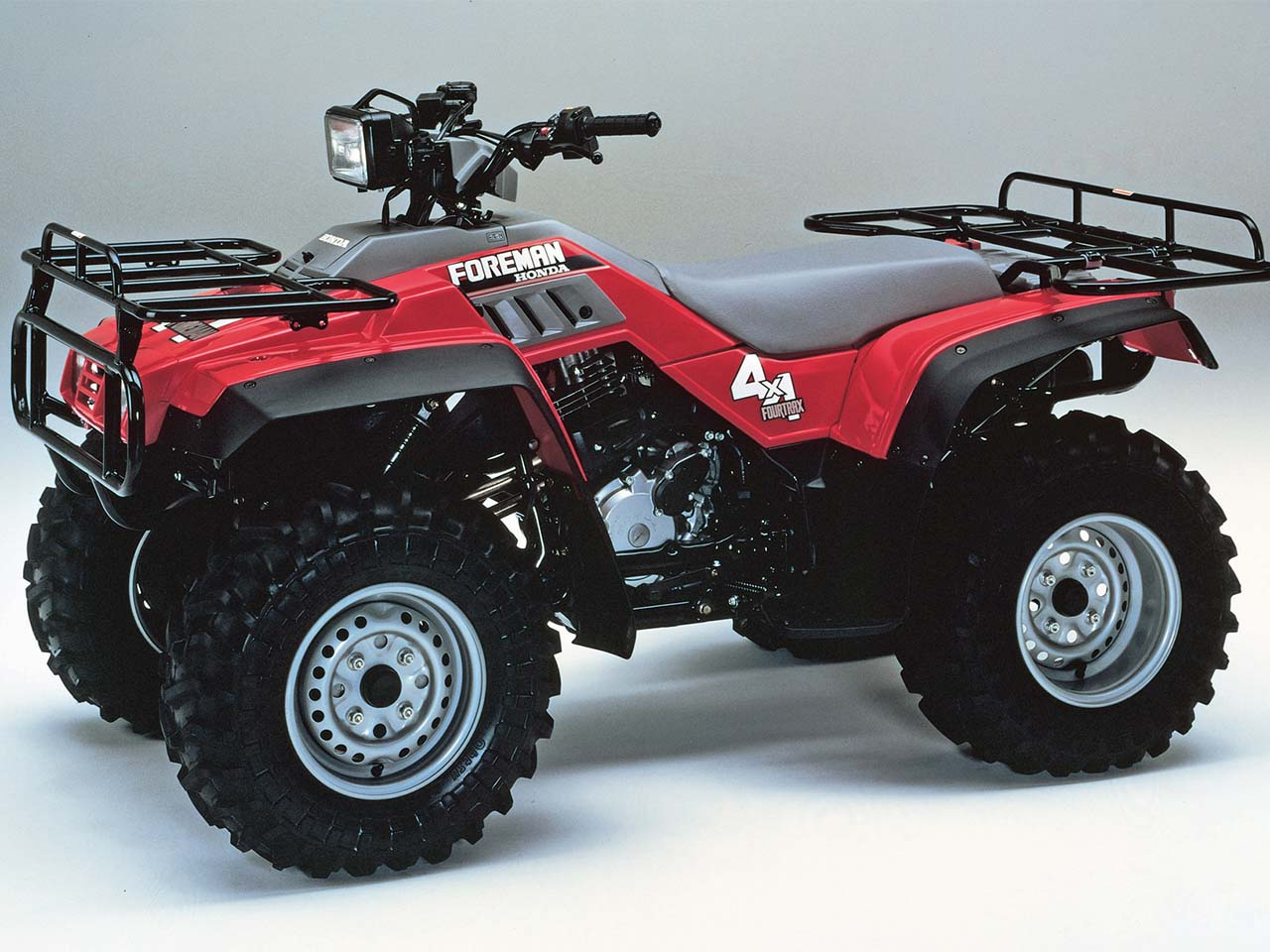 honda.1987.fourtrax foreman4x4.right_.red_.studio 2011 atv illustrated's pick on honda's top ten atvs atv illustrated 1995 honda fourtrax 300 wiring diagram at crackthecode.co