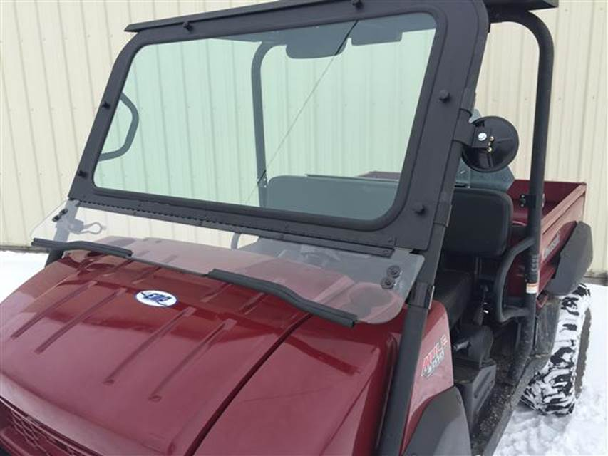 extreme metal products now offers glass windshields for the