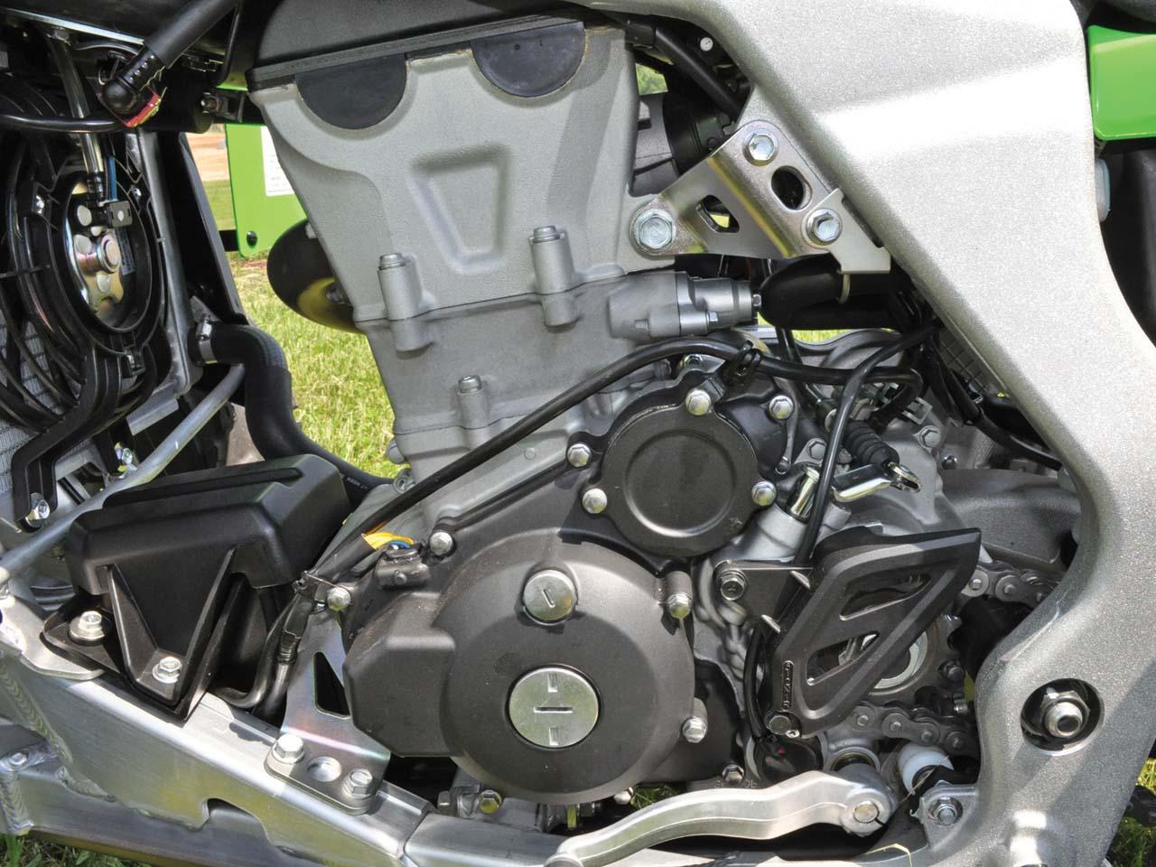 Kawasaki Kfx R Engine