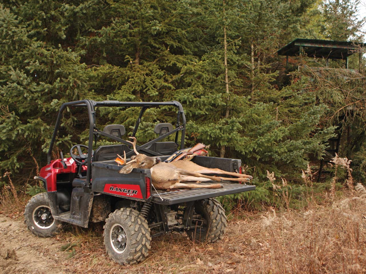 2011 Atv Illustrated S Hunting Guide And Tips For Side X