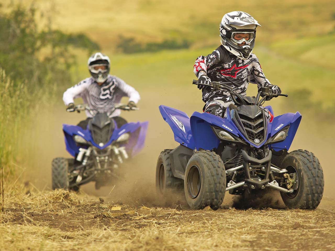 2011 youth quad atv buyer 39 s guide atv illustrated for Yamaha mini four wheelers