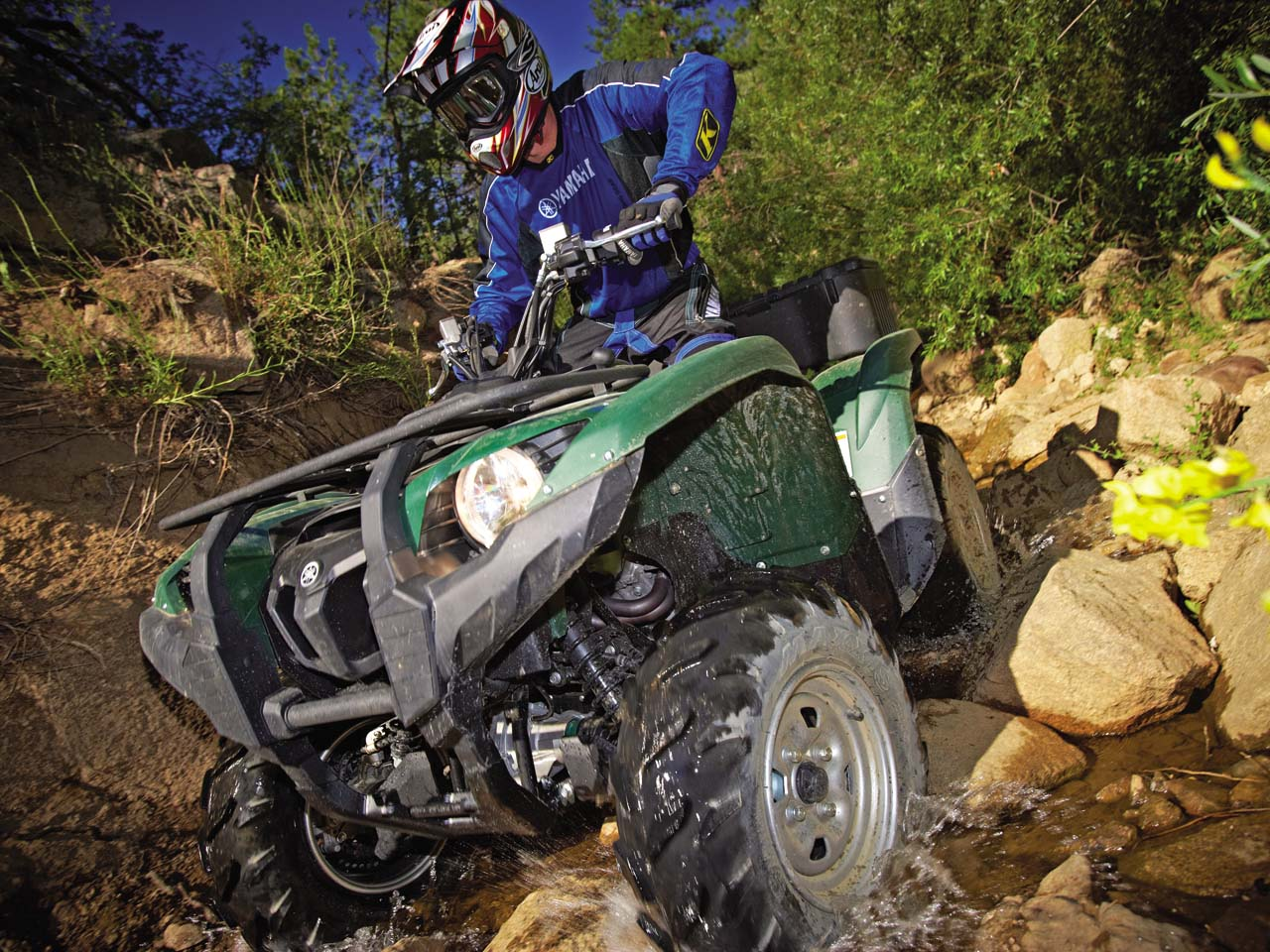 2012 yamaha grizzly 700 fi review atv illustrated for Yamaha grizzly 1000cc