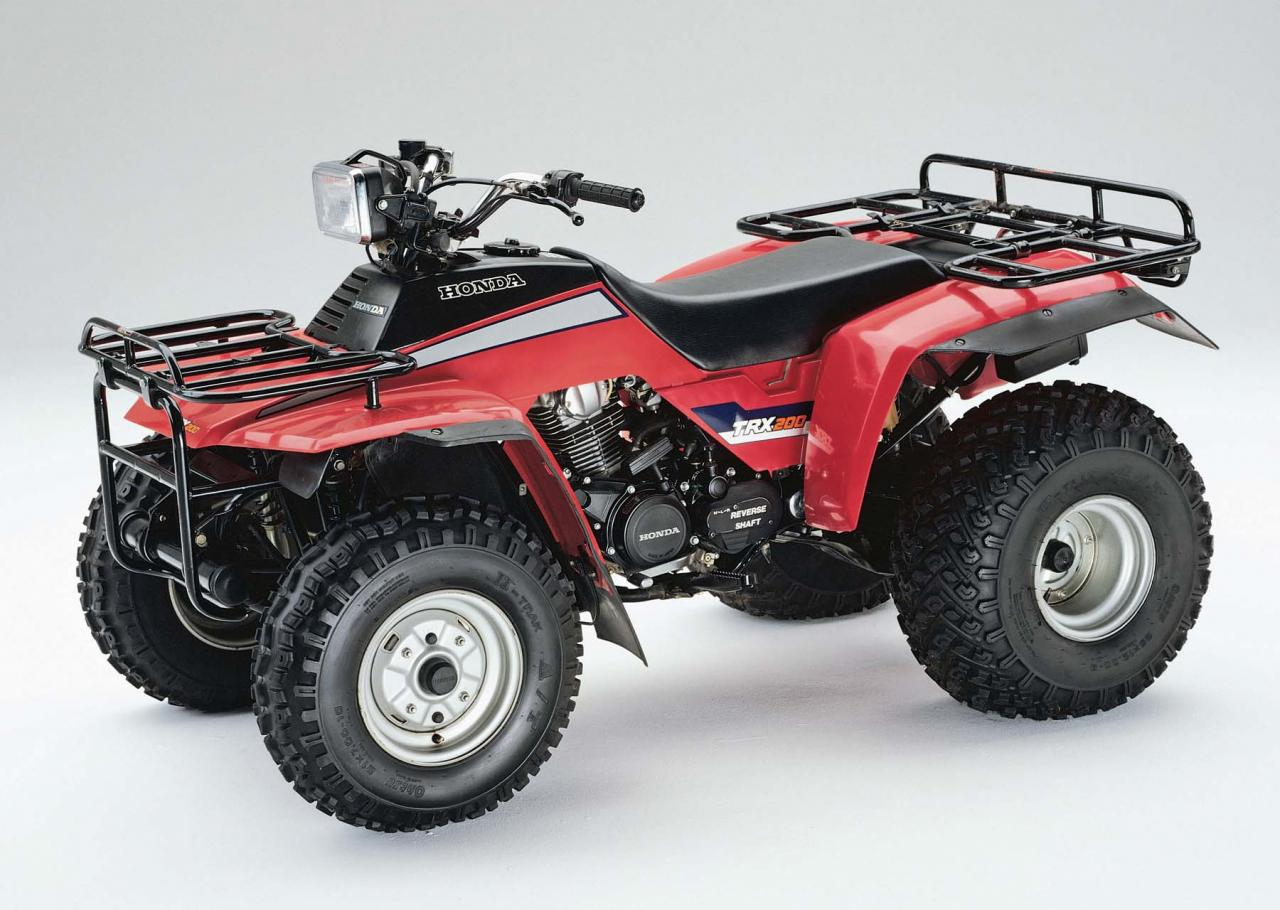 Honda Trx 90 >> 2011 ATV Illustrated's pick on Honda's Top Ten ATVs | ATV