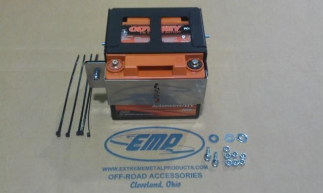 Field Full Size Battery Box : Extreme metal products can am commander battery box