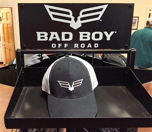 Bad Boy Stampede XTR Crew Overhead Gunracks