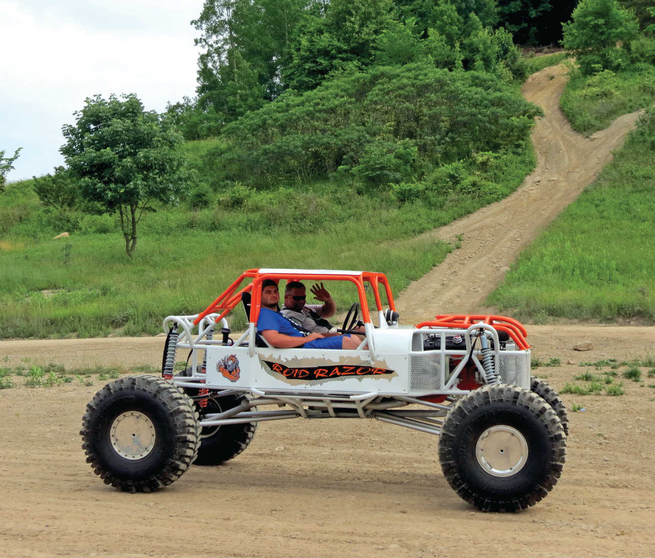 Ride area review get your rush on atv illustrated for Get a home built
