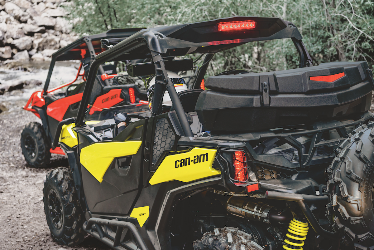 can am releases new maverick trail accessories atv. Black Bedroom Furniture Sets. Home Design Ideas