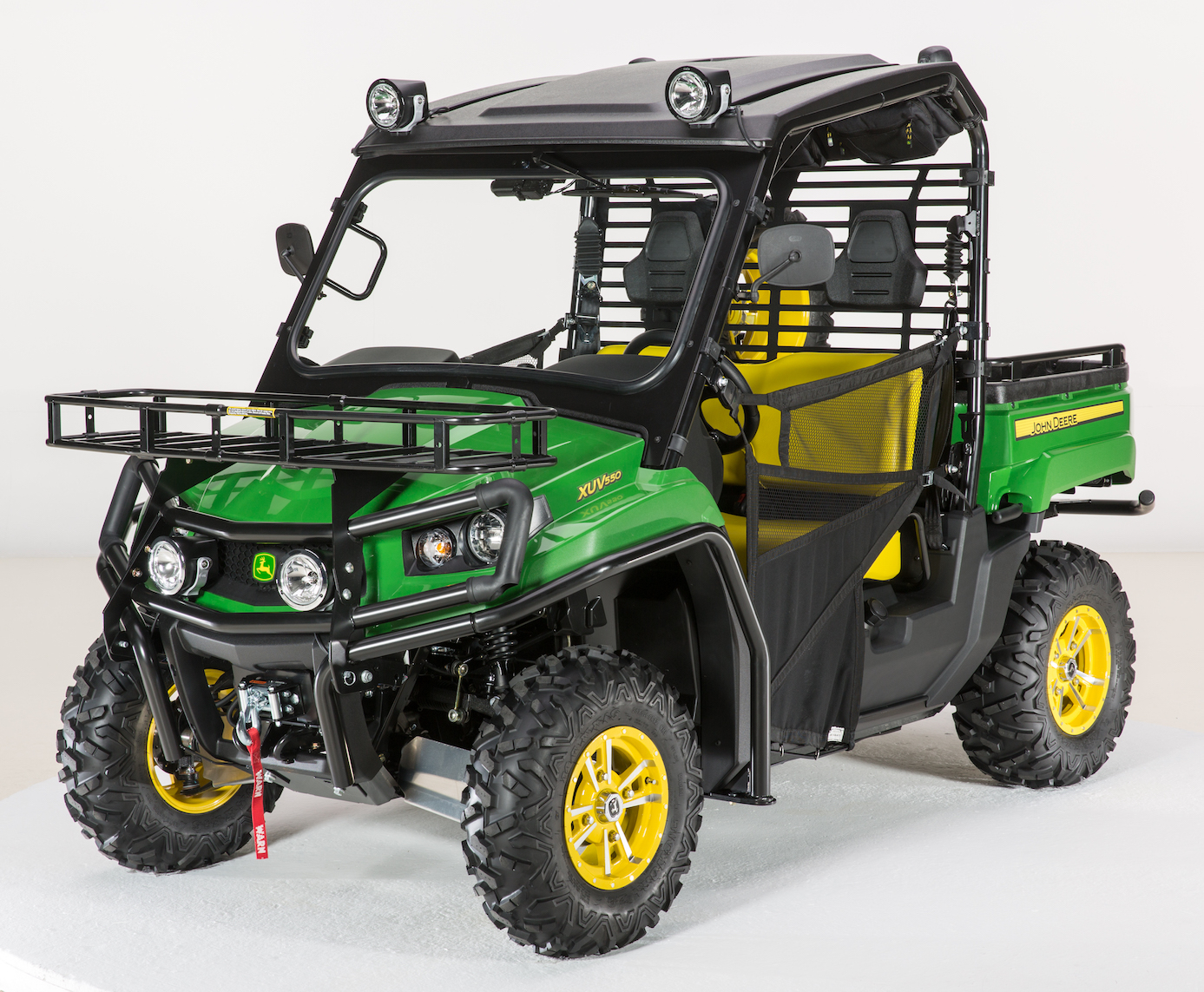 john deere cargo bed extender for full size xuv gator. Black Bedroom Furniture Sets. Home Design Ideas