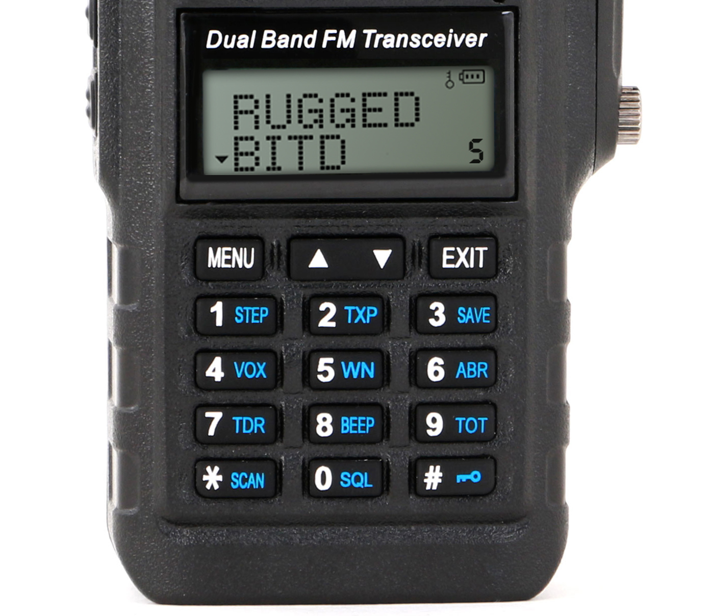 rugged radios announces their waterproof rh5x handheld radio atv
