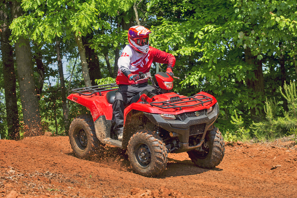 THE 2019 SUZUKI KING QUAD - NOT JUST ANOTHER ATV | ATV Illustrated