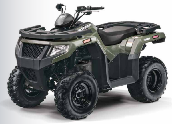 textron  road introduces  youth  entry model atvs atv illustrated