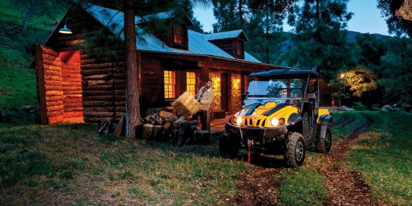 2016.cub-cadet.challenger500.yellow.front.parked.by-cabin.jpg