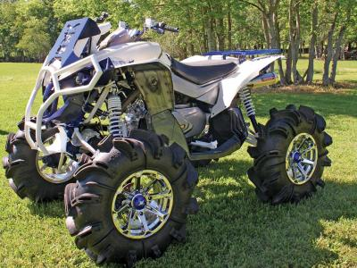 2012.can-am.renegade800-custom.blue.front-left.parked.on-grass.jpg