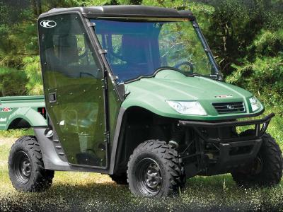2012.kymco.uxv500.with-cabin-enclosure.green.front-right.parked.on-grass.jpg